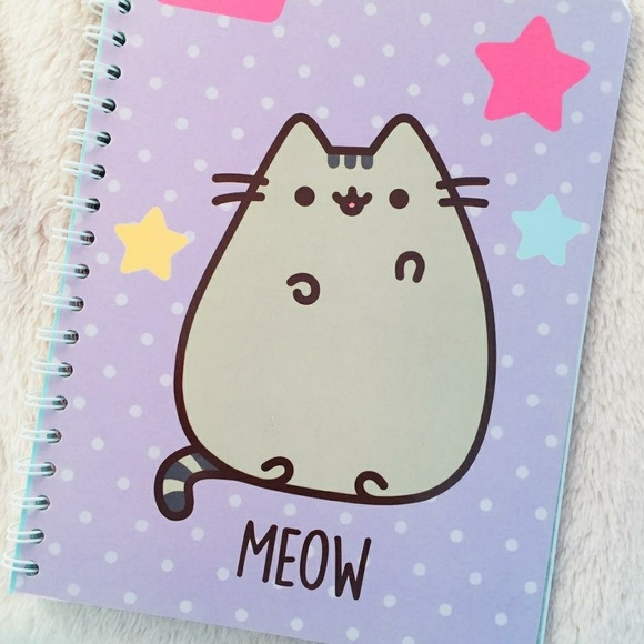 378def1cd8a Pusheen the Cat Notebook + Stickers NEW! Meow 😻